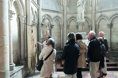 Les Bannières De La Cathédrale à Troyes
