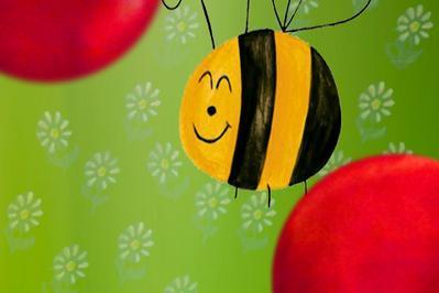 Les Bi clowns et la P'tite abeille à Dijon