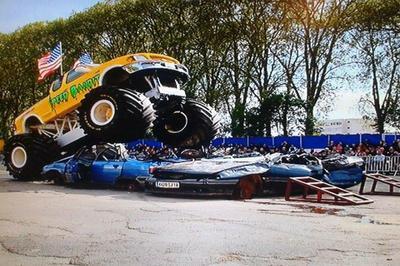 Les Cascadeurs Monster Show à Decazeville