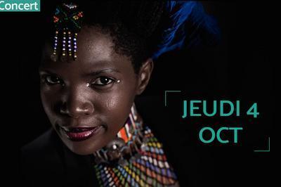 Sibongile Mbambo - Les Chants Captivants De La Sirène Sud-africaine à Marseille