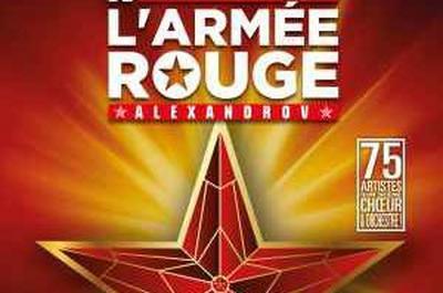 Les Choeurs De L'Armee Rouge à Montpellier
