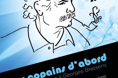 Les copains d'abord, concert hommage à Georges Brassens à Montreuil