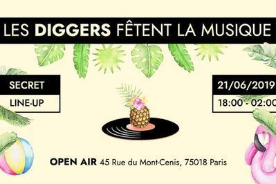 Les Diggers Fêtent La Musique! à Paris 18ème