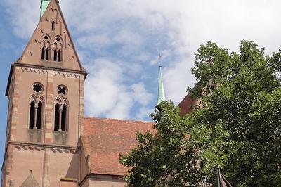 Les Endroits Secrets De Saint-pierre-le-jeune à Strasbourg