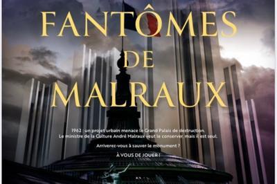 Les Fantômes De Malraux - Escape Game Digital / Jeu De Piste En Extérieur - Sur Téléphone à Paris 8ème