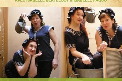 Les filles font trempette à Fontaine en Bray