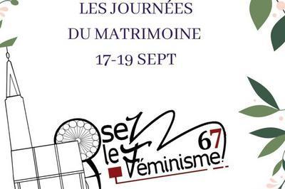 Les Journées Du Matrimoine : à La Découverte Des Femmes Alsaciennes à Strasbourg