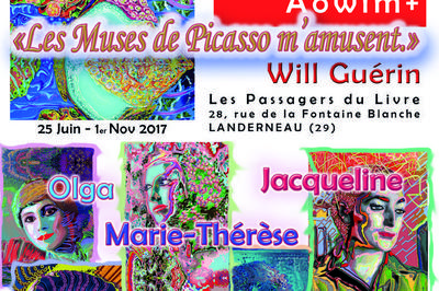Les muses de Picasso m'amusent. à Landerneau