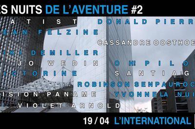 Les Nuits De L'Aventure #2 à Paris 11ème