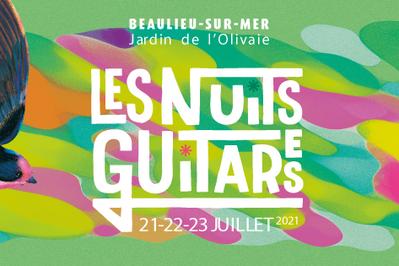 Les Nuits Guitares 2021 Pass journée à Beaulieu sur Mer