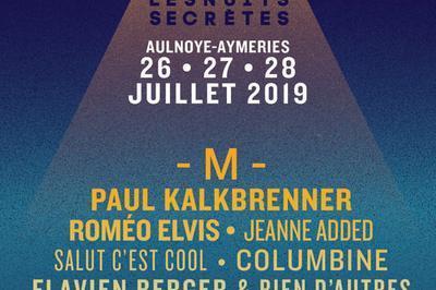 Les Nuits Secretes 2019 - 1 Jour à Aulnoye Aymeries