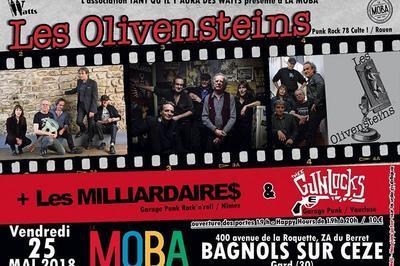 Les Olivensteins - '78 French Punk Legends à Bagnols sur Ceze