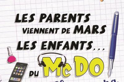 Les parents viennent de Mars, Les enfants… Du Mc Do ! Chez Papa à Montpellier