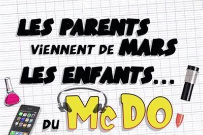 Les Parents Viennent De Mars, Les Enfants Du McDo à Cugnaux