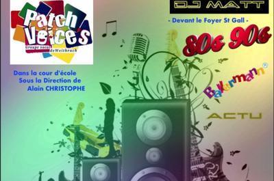 Les Patch Voice's & DJ MATT à Weitbruch
