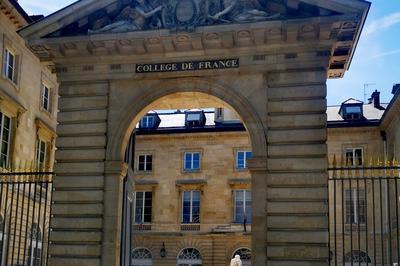 Les Patrimoines Du Collège De France à Paris 5ème
