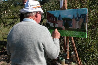 Les Peintres Dans La Nature à Lassay sur Croisne
