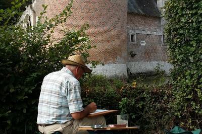 Les Peintres Dans La Nature Et Leur Exposition De Peintures à Lassay sur Croisne