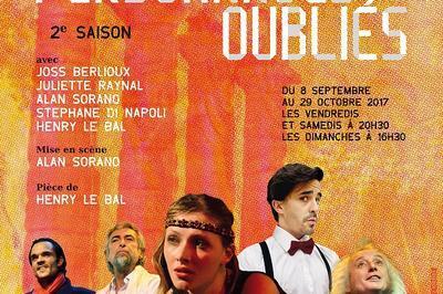 Les personnages oubliés. 2ème saison à Paris à Quimper