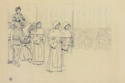 Les Personnages Sortent Des Dessins De Louis-maurice Boutet De Monvel (1850-1913) à Orléans