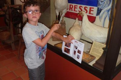 Les Petits Détectives Au Musée à Pierre de Bresse