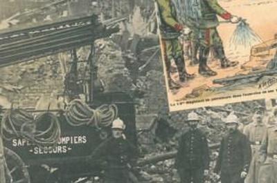 Les pompiers dans la bataille période 1817-1917 à Chivres Val