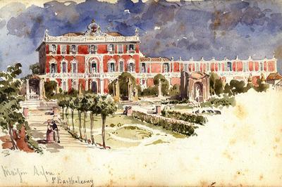 Les Réminiscences Du Jardin Italien De La Villa Arson à Nice