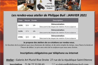 Les rendez-vous de Philippe Buil à Saint Etienne