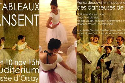 Les tableaux dansent! à Paris 7ème