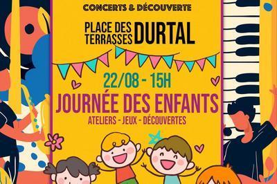 Les Terrasses en Fête - La Journée des enfants à Durtal