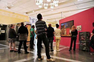 Les visites entre amis au Musée de l'Image à Epinal