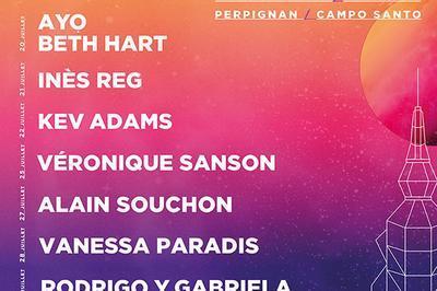 Vanessa Paradis + 1ère Partie à Perpignan