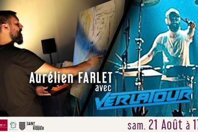 Live Painting par Aurélien Farlet, avec Verlatour à Saint Riquier