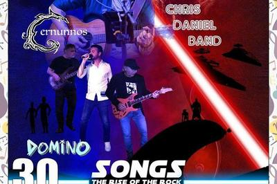 Loganarts présente: Chris Daniel band, Domino, Cernunnos à Marseille
