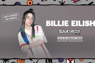 Lollapalooza Paris Billie Eilish à Paris 16ème