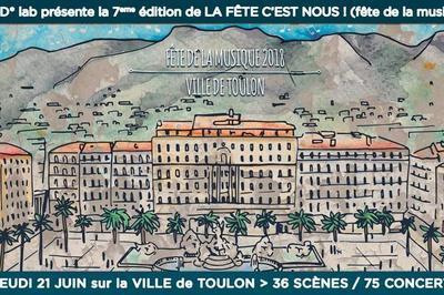 Looking for Nancy (Fête de la Musique 2018) à Toulon