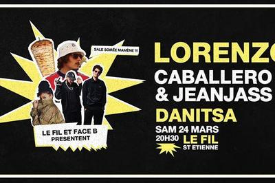 Lorenzo x Caba & JeanJass x Danitsa à Saint Etienne