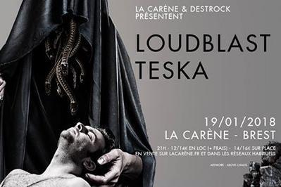 Loudblast + Teska à Brest