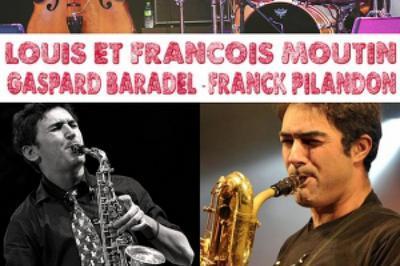 Louis Et François Moutin Avec  Franck Pilandon Et Gaspard Baradel à Cournon d'Auvergne