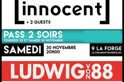 Ludwig Von 88 + No One Is Innocent à Le Chambon Feugerolles