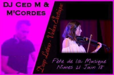 M'Cordes & DJ CED M à Nimes