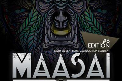 Maasai #6 / Major7 X-Noize DJ HP Illegal Machines Shakuray à Toulouse