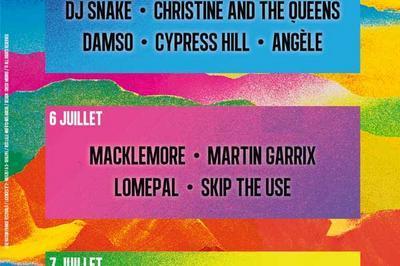Macklemore / Lomepal / Martin Garrix à Arras