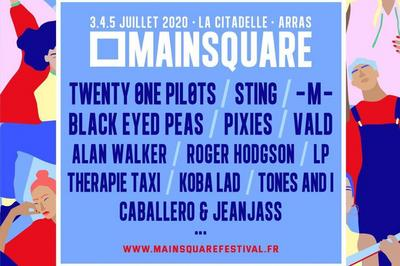 Main Square Festival 2020 Camping 3JR à Arras