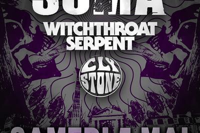Make It Sabbathy #47 Suma, Witchthroat Serpent et Clystone à Bordeaux