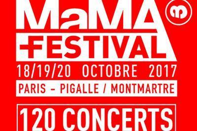 Mama Festival 2017 - Pass Mercredi à Paris 18ème
