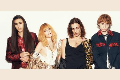 Maneskin à Paris 18ème