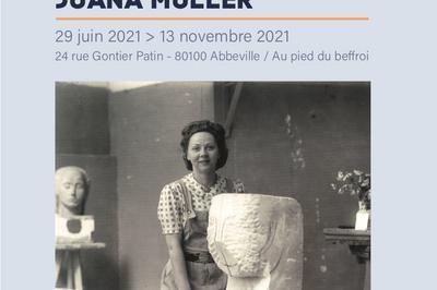 Manessier Invite Juana Muller à Abbeville