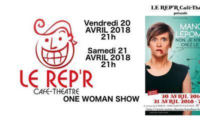 Manon Lepomme - Non je n'irai pas chez le psy à Puygouzon