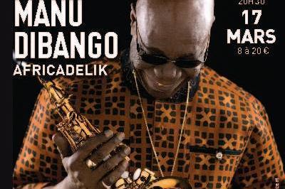 Manu Dibango à Le Creusot